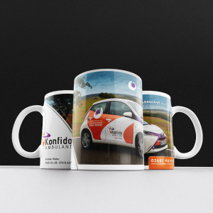 Printdesign, individuelle Tasse