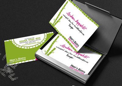 Printdesign, Visitenkarten